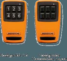 Emetteur Sesam 800 configurable