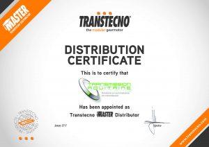 certification centre de montage et distribution Transtecno et Transmission Aquitaine, Spécialiste en motorisation, automatisme, radiocommandes & coffret électrique