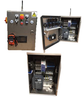 Exemple de coffrets électriques réalisés par Transmission Aquitaine