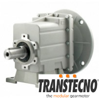 réducteur coaxial aluminium transtecno