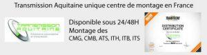 Transmission Aquitaine centre de montage