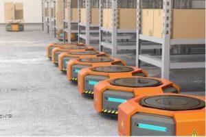 robots mobiles autonomes avec SQ75