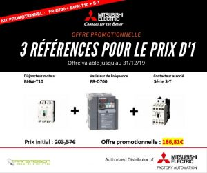 Mitsubishi Electric offre promotionnelle