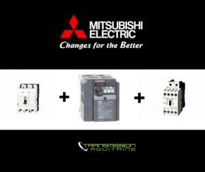 Utiliser un variateur de fréquence Mitsubishi