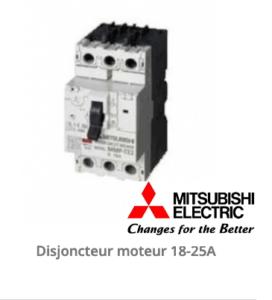 Disjoncteur moteur pourla maintenance de son moteur électrique